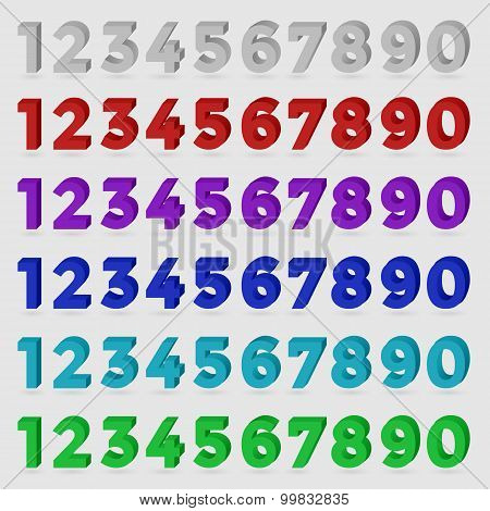 Three-dimensional numbers.
