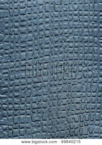 Grey Metallized Paper Background