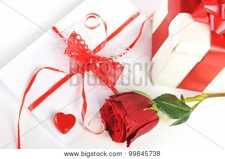 Letter With Ribbon