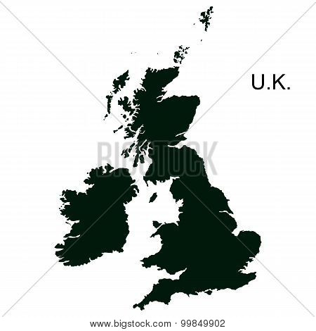 Vector Great Britain Pictogram