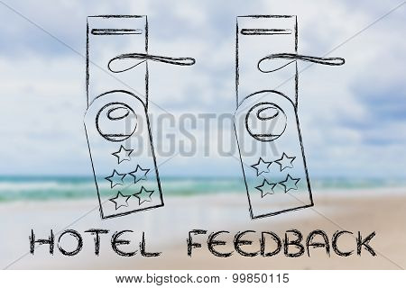 Hotel Feedback, Door Hangers With Ranking