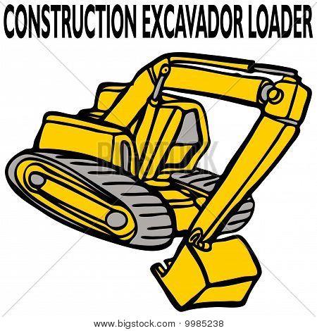 Construction Excavator Loader