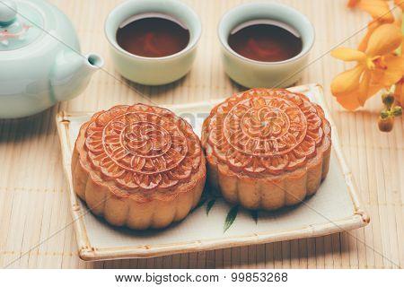 Moon Cake/ Traditional Mooncake For Tea