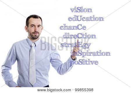 Vision Education Chance Direction Strategy Inspiration Positive Success