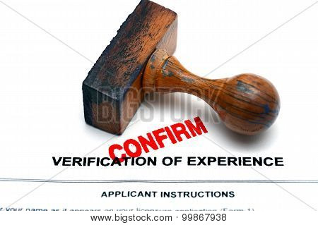 Verifivation Of Experience