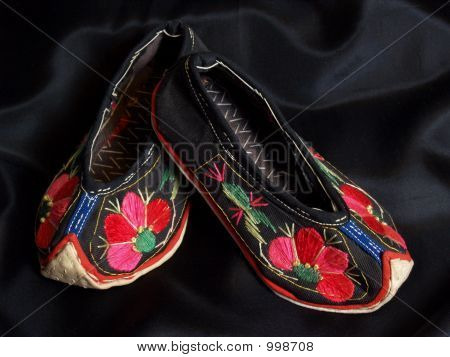 Chinese Yi Tribe Baby Shoes