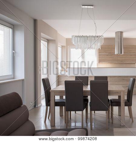 Luxury Beige Interior