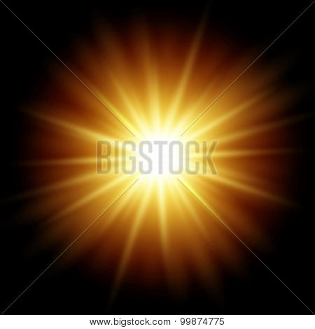 Abstract magic light background