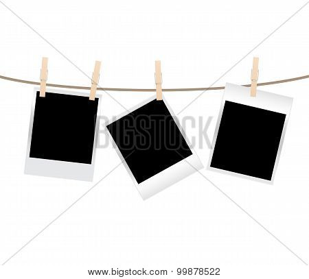 photos clothespin