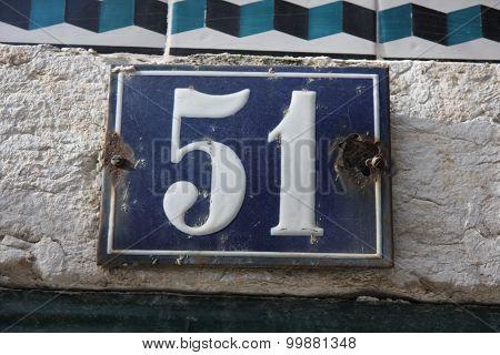 Number 51