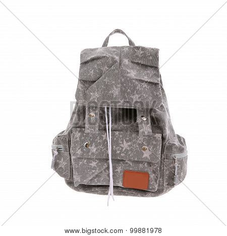 Colored school backpack