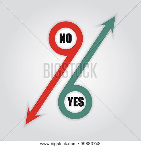 Yes Or No, Communication Concept