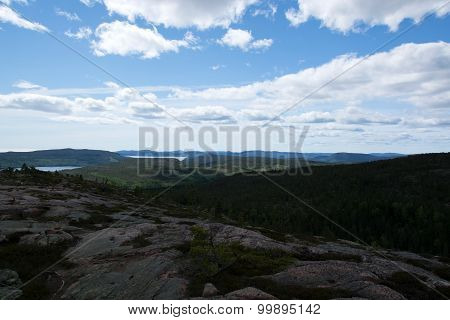 Skuleskogen National Park, Hoega Kusten, Sweden