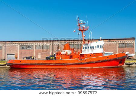 The Rescue Boat.