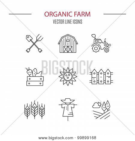 Eco Farming Icons