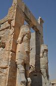 picture of xerxes  - Ruins of historic city of Persepolis - JPG