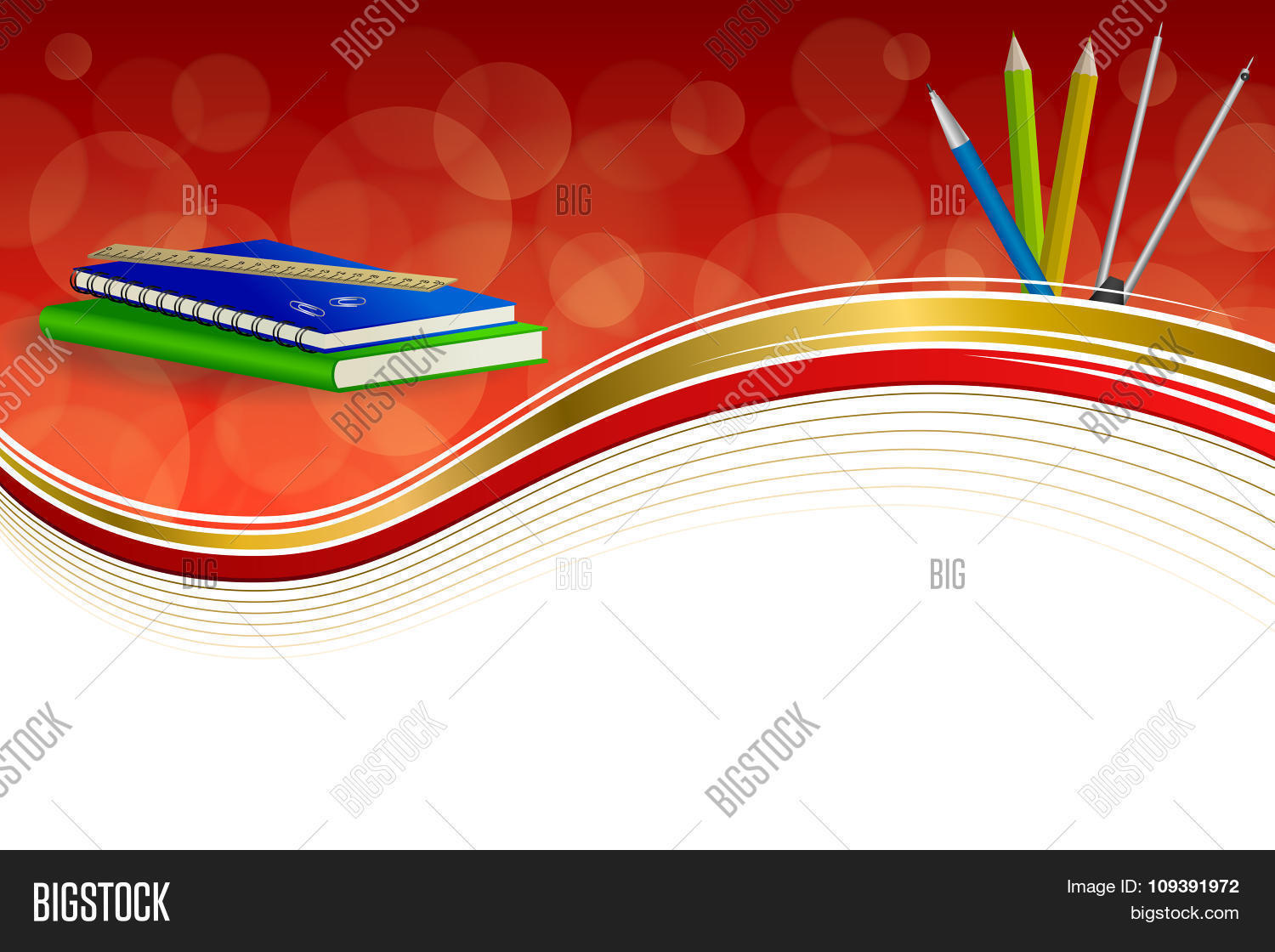 School Book Cover Background : Background abstract school green vector photo bigstock