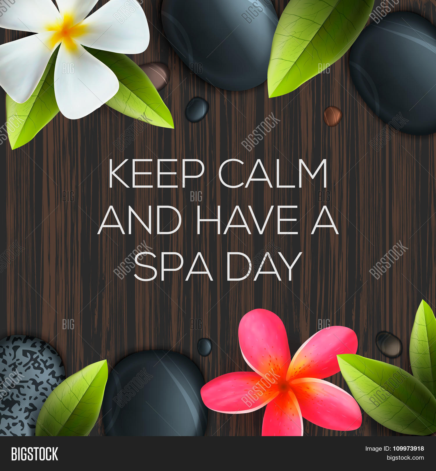 Keep calm have spa day vector photo bigstock for 3 day spa