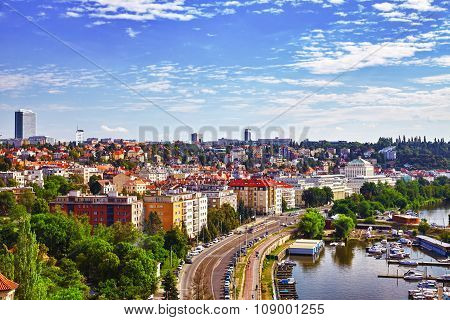 Historical And Ordinary Views Of Prague, Architectural, Street, People, Life Of The Czech Capital. C