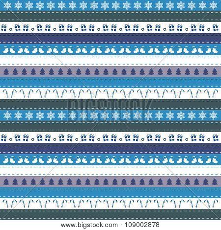 Christmas stripe pattern template - various color design
