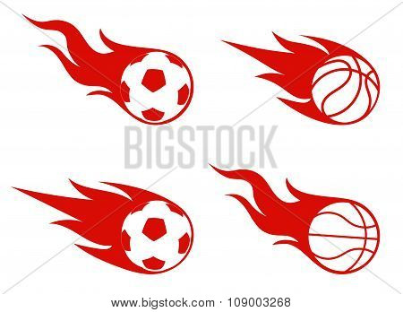 Flight Of A Ball, Sports Symbol
