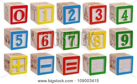 Blocks - Numbers