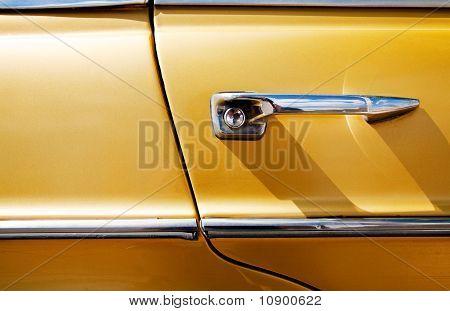 vintage car door