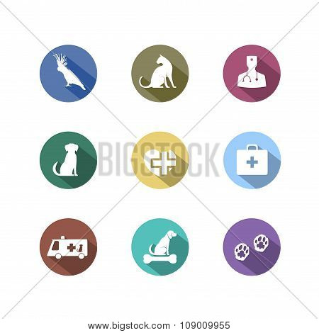 Veterinary Symbol For Your Design