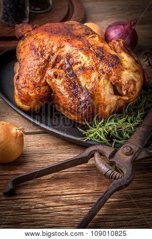 Baked Chicken.