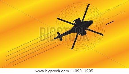 Attack Helicopter Fighting [converted].eps