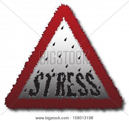 Stressy Signpost