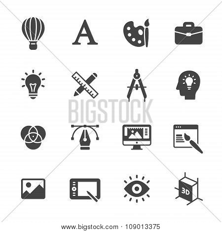 Solid Design Icons