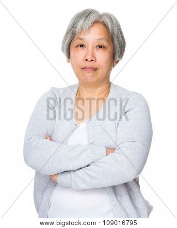 Asian Old woman portrait