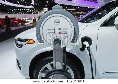 Volvo Charging Station