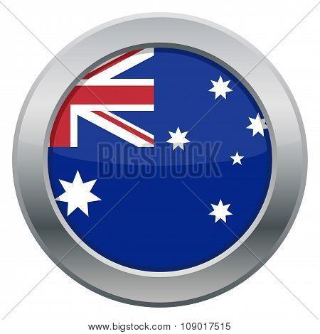Australia Silver Icon