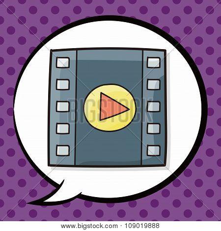 Film Tape Doodle