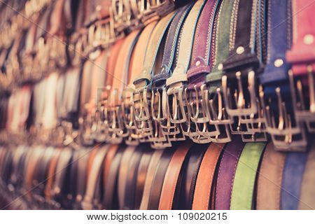 Angled Belts Florence Pastel