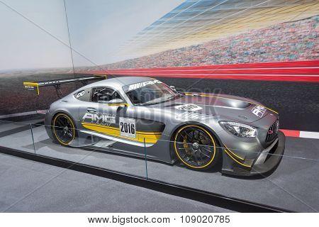Mercedes-amg Gt3 Race