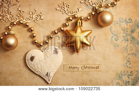 Marry Christmas and happy New Year celebrations background
