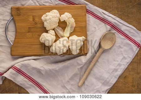 Cauliflower florets