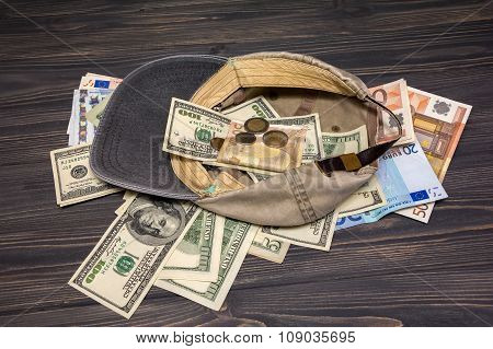 Money In The Old Cap