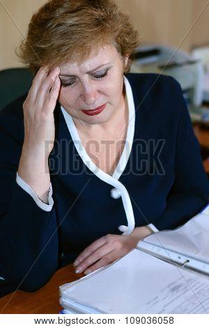 Older Women Have A Headache