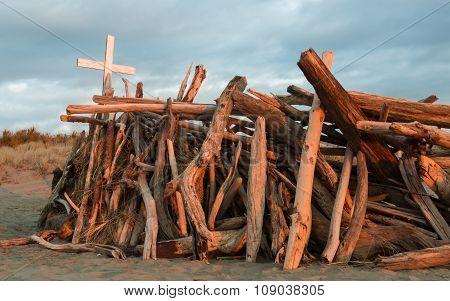 White Cross Wood