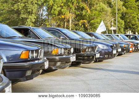 Old-cars Bmw 5-series, 6-series