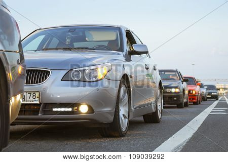 Old-car Bmw 5-series E60