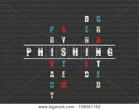 Safety concept: Phishing in Crossword Puzzle