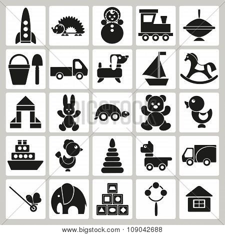 Icons Of Children's Toys