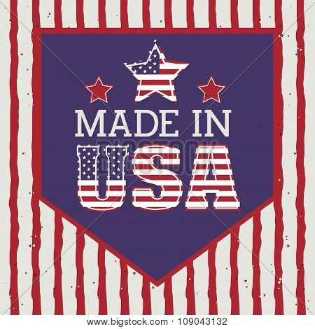 usa emblematic seal design