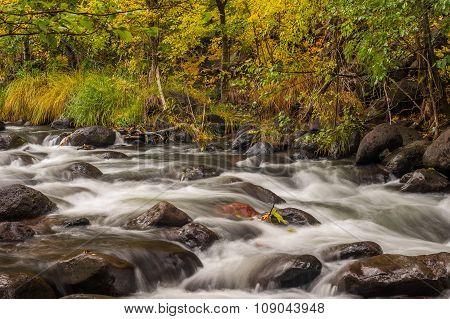 Sedona Arizona USA on a Rainy Autumn Day