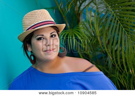 Smiling Spanish Woman